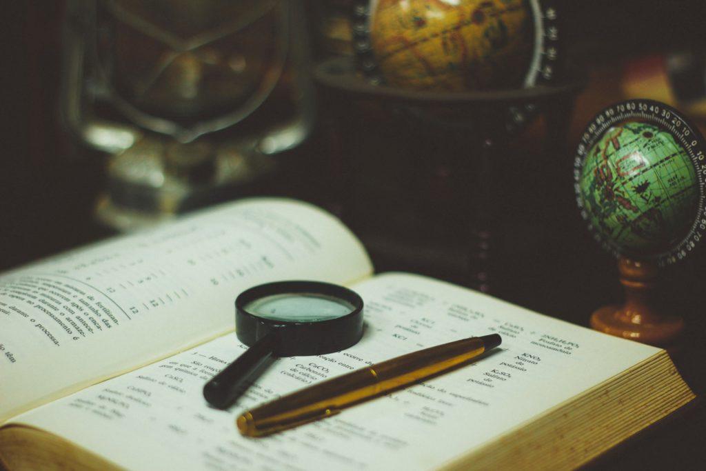 loupe et recherche