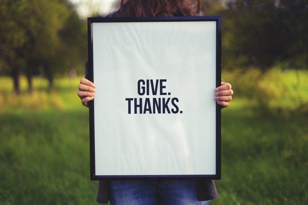 gratitude dire merci