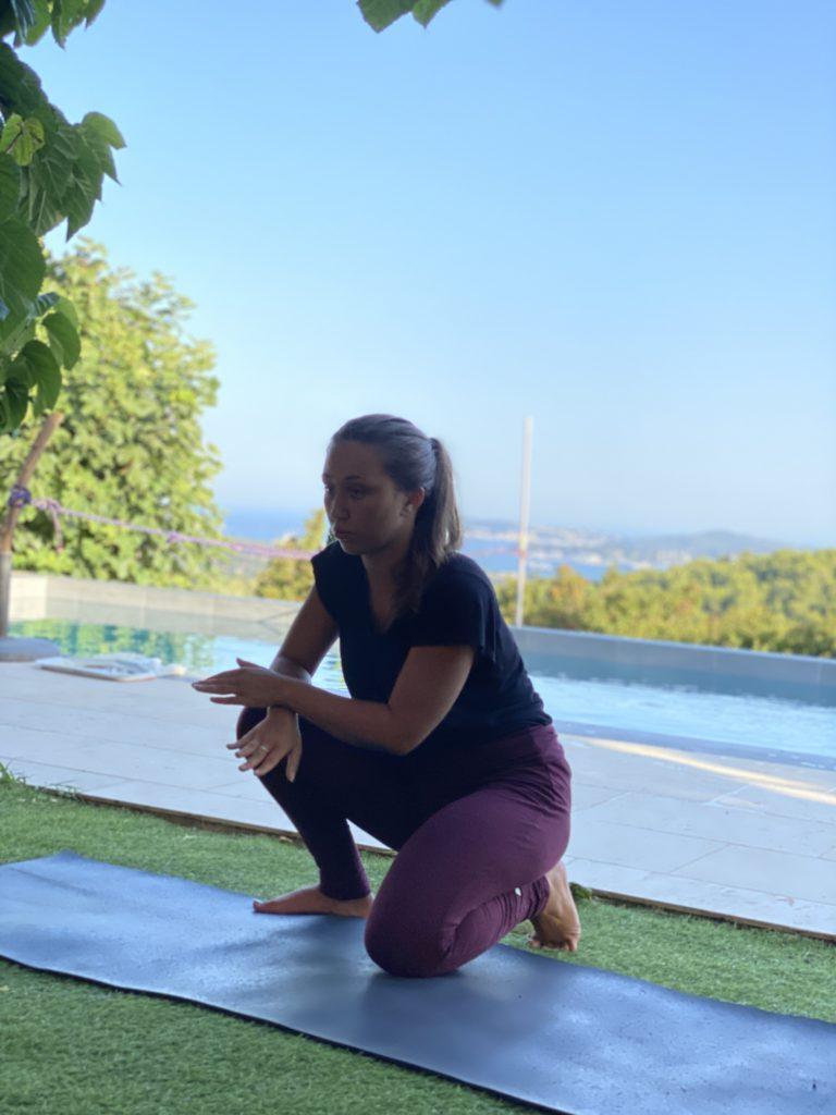 yoga cours particulier lyon